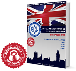 ECL EXAMINATION TOPICS English Level C1 Revised Edition with updated tasks