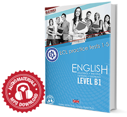 ECL Practice Exams 1-5 English Level B1 NEW
