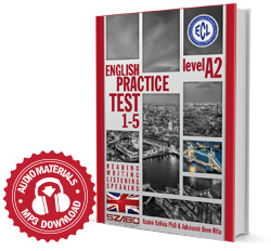 ENGLISH PRACTICE TEST 1-5 Level A2