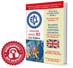 ECL Practice Exams 1-5 English Level B2 New edition with updated tasks