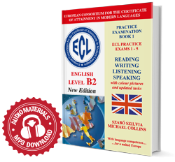 ECL Practice Exams 1-5 English Level B2 New Edition