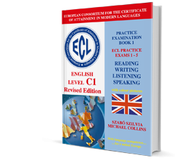 ECL Practice Exams 1-5 English Level C1 Revised Edition